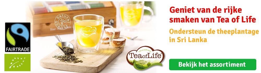 Tea of Life Fairtrade thee bij Langerak de Jong