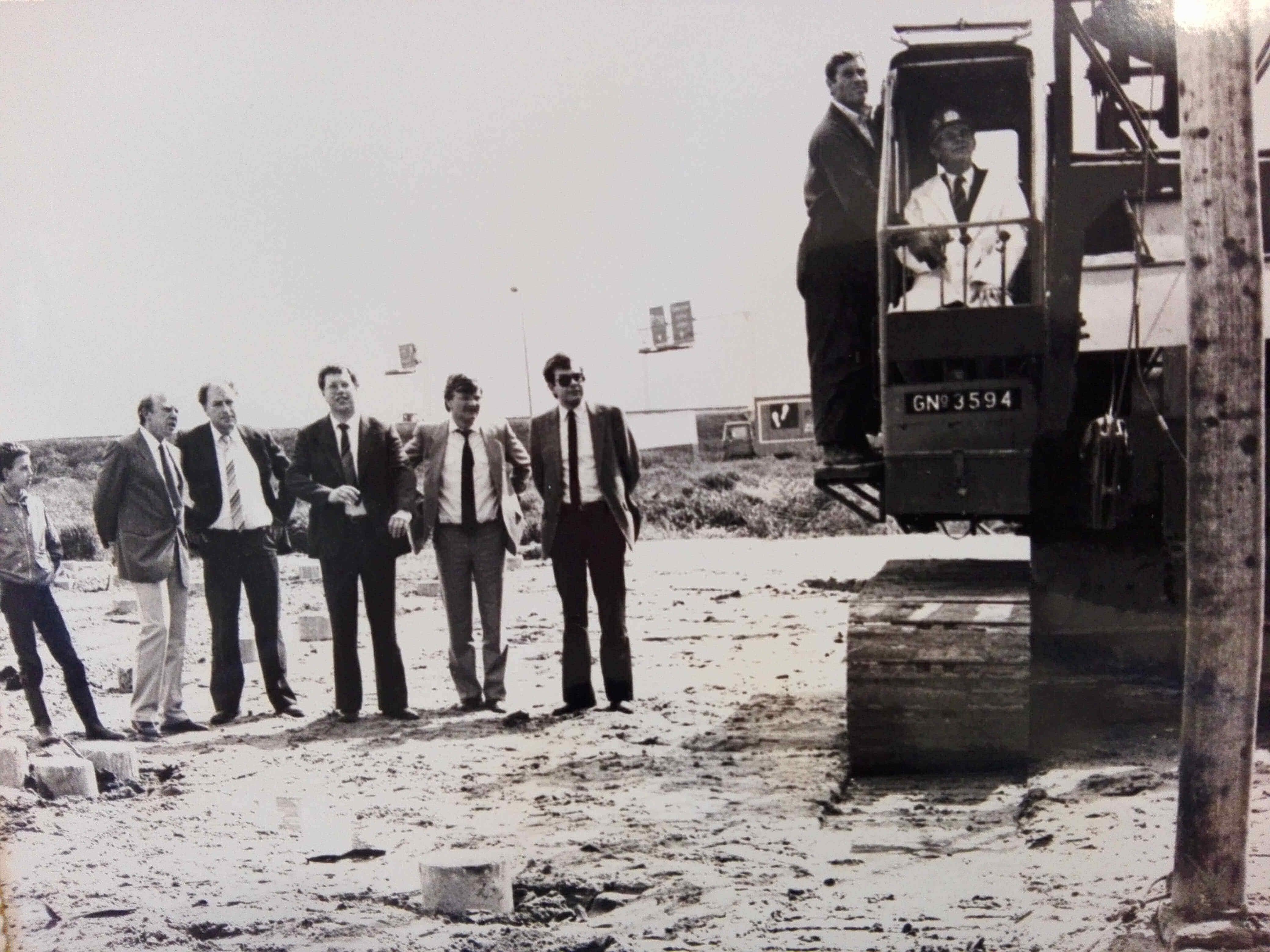 Nieuwbouw Groothandel Langerak 1985