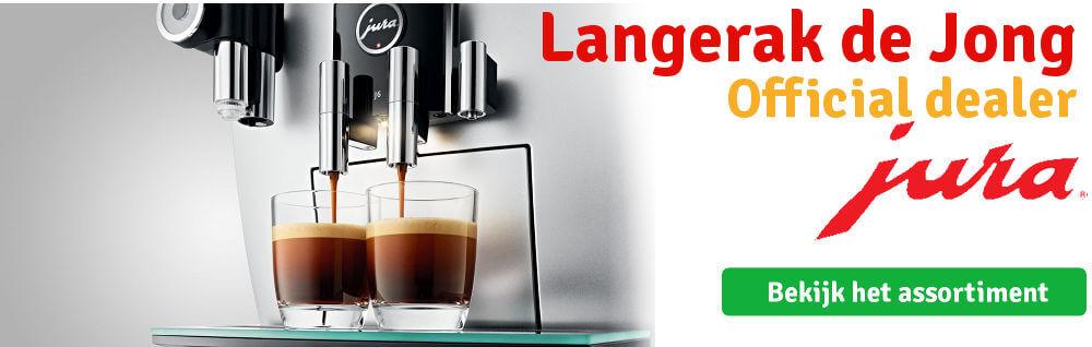 Jura koffiemachine kopen? Langerak de Jong heeft het in huis.