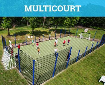 Multicourt speelterrein in Brabant